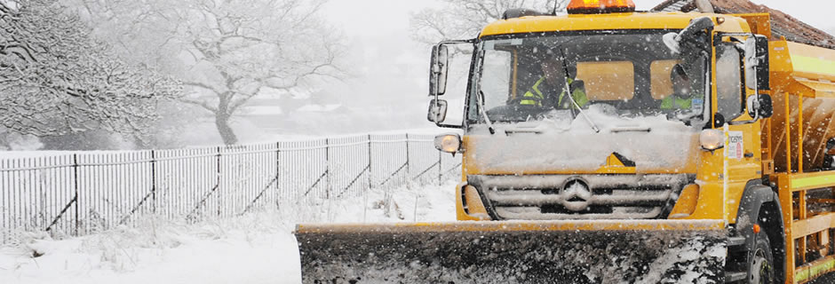 Our gritting routes