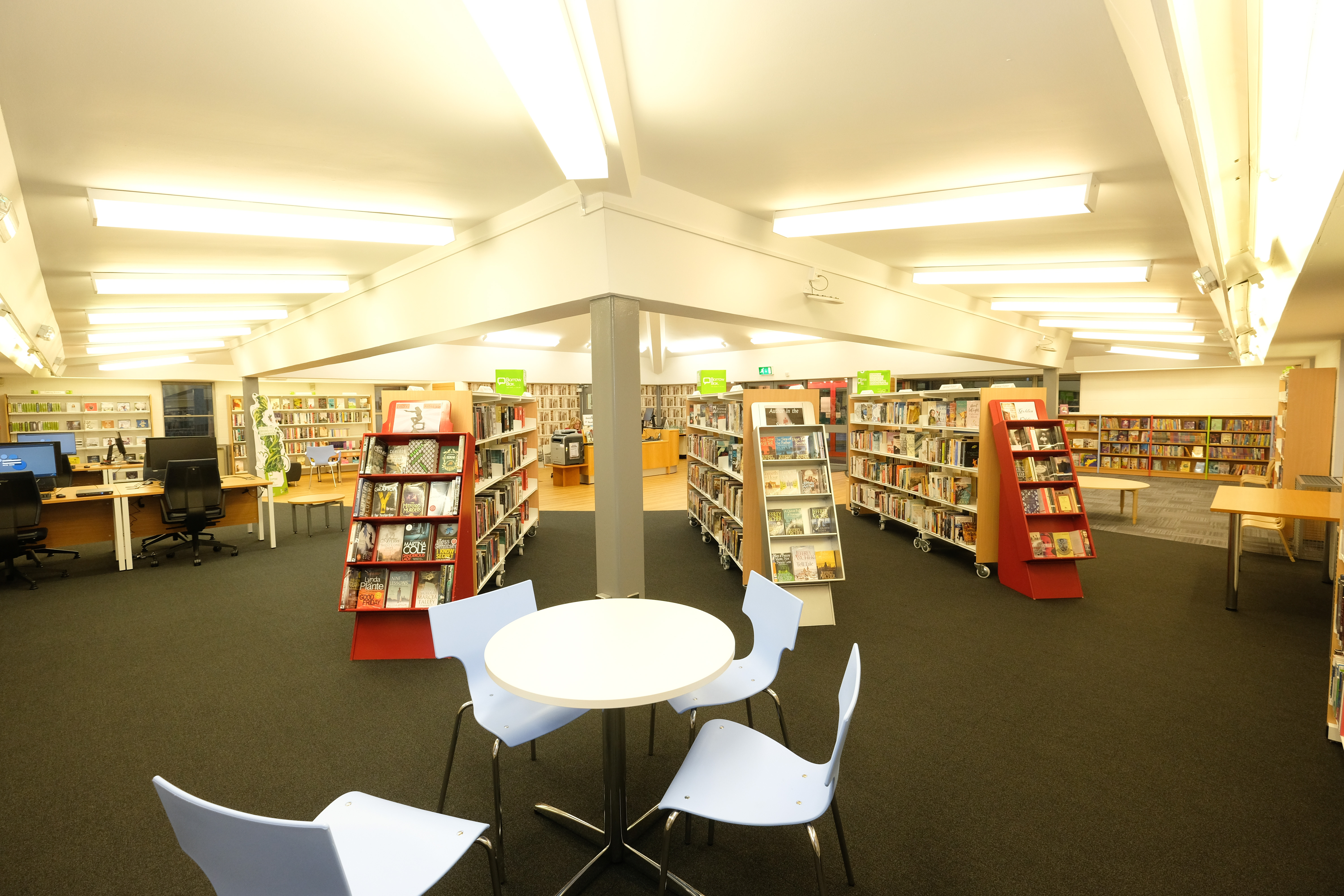 Our lovely refurbished library