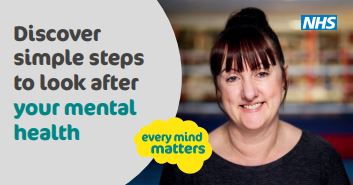 Discover simple steps to look after your mental health
