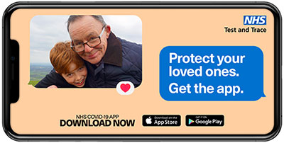 Download the NHS Covid-19 App